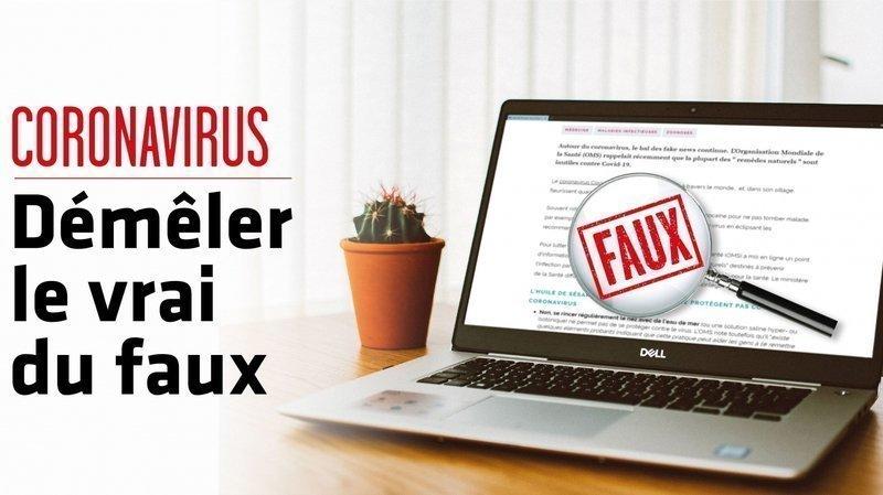Coronavirus: hélicos, gargarismes ou création française… les cinq «fake news» de la semaine