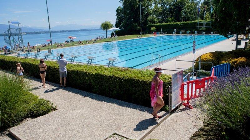 Nyon: pour faire des économies, la piscine de Colovray sera bâchée