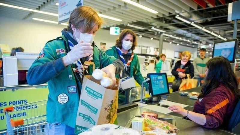 Coronavirus: les scouts de Nyon volent au secours des plus vulnérables