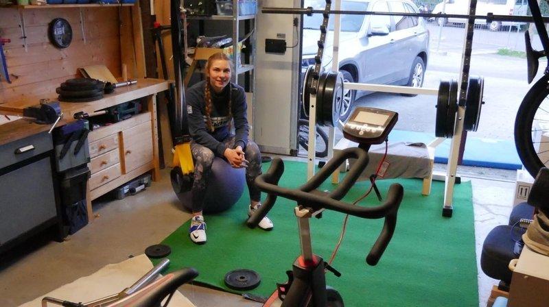 Zoé Claessens: «Désormais, je m'entraîne dans mon garage»