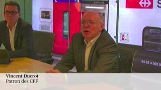 Vincent Ducrot à la tête des CFF