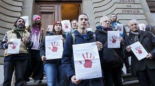 Climat: un activiste pro-climat condamné par le Tribunal de police de Genève