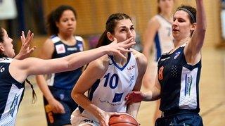 Les Nyonnaises ont offert une leçon de basket au Rocher