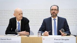 La Suisse n'échappe pas au coronavirus