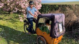 Gland: il livre des produits locaux et zéro déchet à vélo