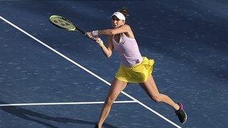 Tennis: Bencic passe difficilement le 2e tour du Tournoi WTA de Doha