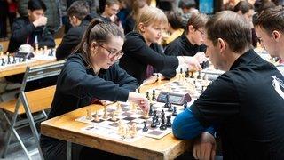 Les échecs nyonnais à la fête à Signy Centre