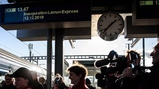 Léman Express, le douloureux départ