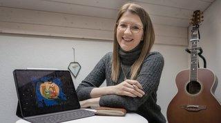 Au repos forcé, une Morgienne lance un podcast pour les petits