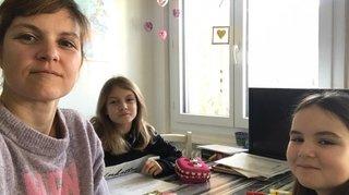 A Nyon, Chloé Seyssel et ses filles cultivent l'instant présent
