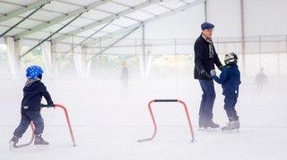 L'aventure de la patinoire à Perroy se termine en apothéose