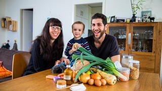 Février sans supermarché: comment s'en sort la famille Carfora?
