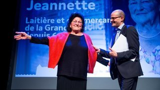 Rolle récompense Jeannette, «sa star locale»