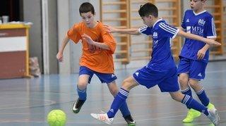 Défiés par des pros, les jeunes footballeurs ont tout pour progresser