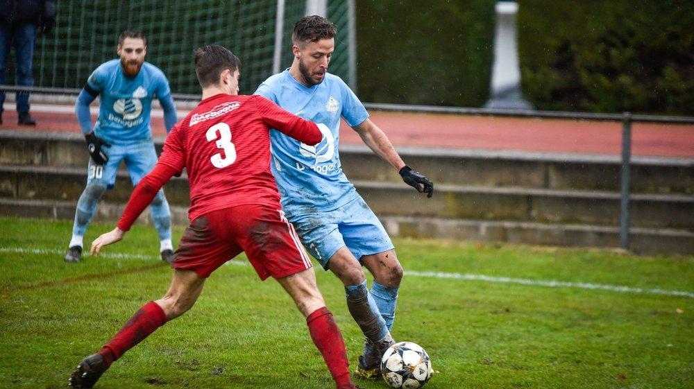 Adversaires en Coupe vaudoise, Aubonnois (en rouge) et Pranginois sont tous les deux parmi les perdants, après cette saison blanche.