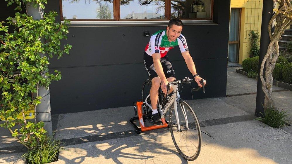 Frustré de compétition, Grégoire Siegwart s'astreint à un entraînement physique quotidien.