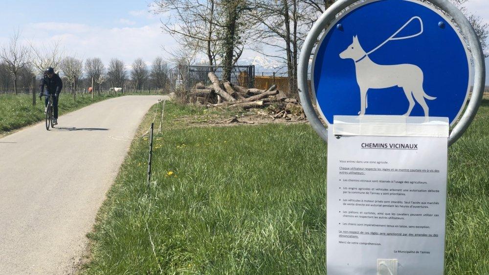 A Tannay comme dans de nombreuses communes, les autorités rappellent les règles en vigueur.