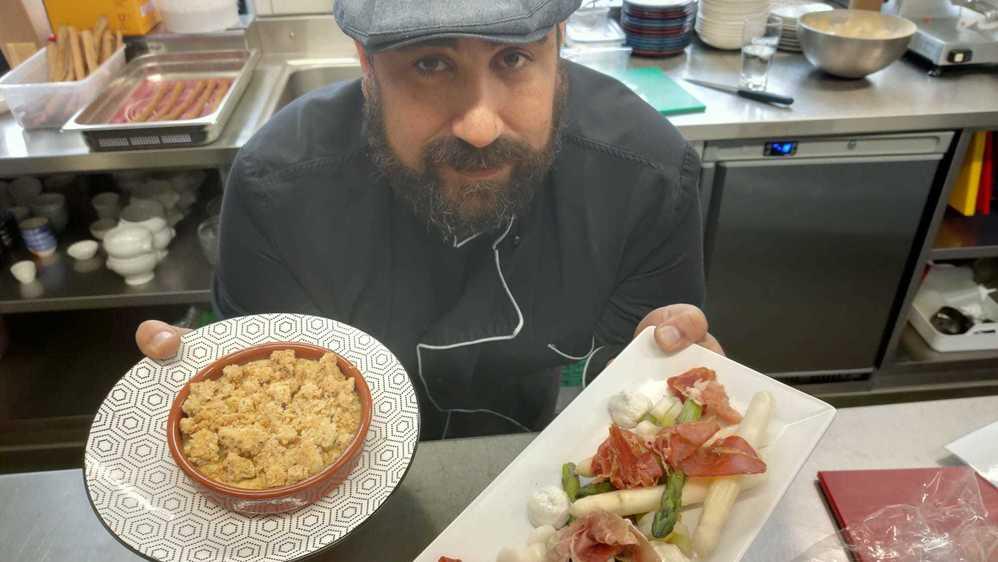 Matthieu David est à la tête de l'hôtel-restaurant de La Fleur-de-Lis depuis octobre dernier.