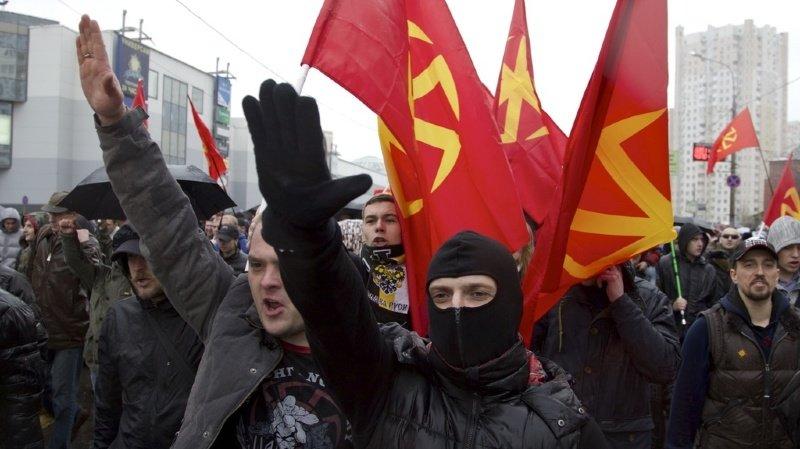 Washington accuse le Mouvement impérial russe de «fournir un entraînement paramilitaire à des néonazis et à des suprémacistes blancs». (illustration)