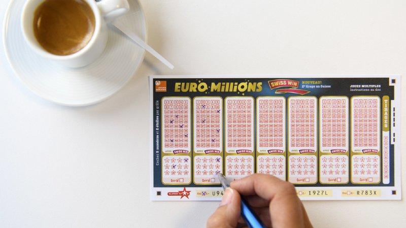 Loteries: un joueur remporte 70 millions de francs à l'Euro Millions
