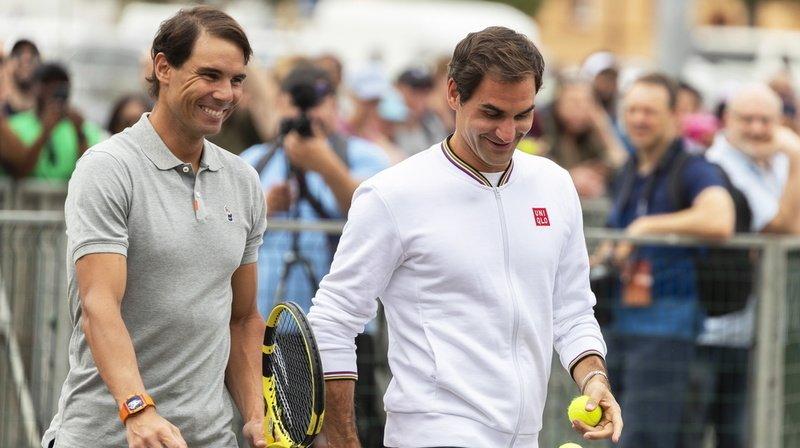 Les deux hommes ont aussi évoqué leur état physique et notamment Federer qui se remet d'une arthroscopie subie en février. (archives)