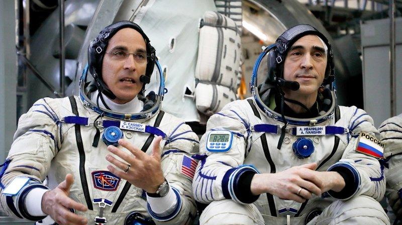 Espace: l'équipage spatial s'est arrimé à l'ISS