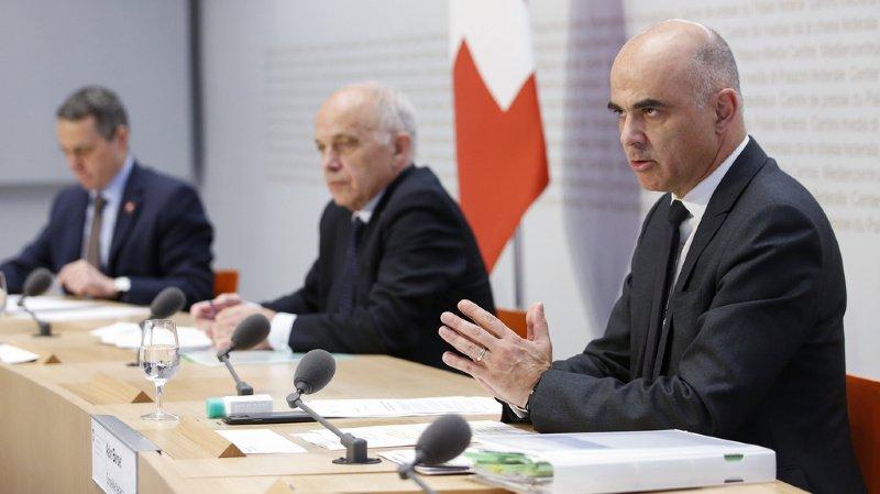 Les Suisses ont confiance dans les mesures prises par le Conseil fédéral.