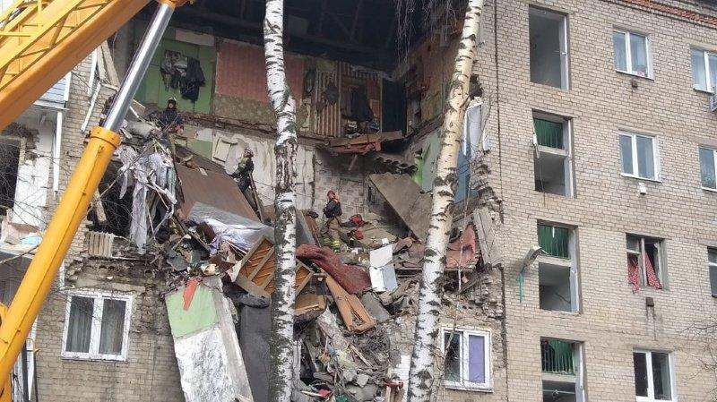 L'explosion de gaz a fait deux morts et six blessés.