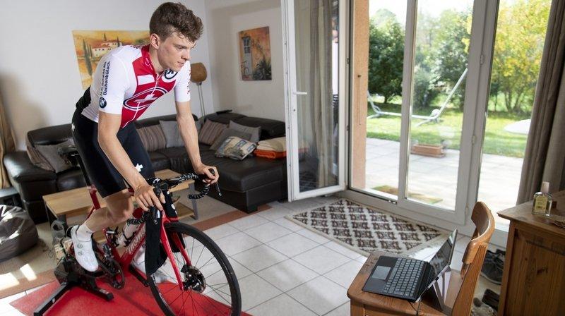 Au Tour de Suisse, Robin Froidevaux a sué… dans son salon
