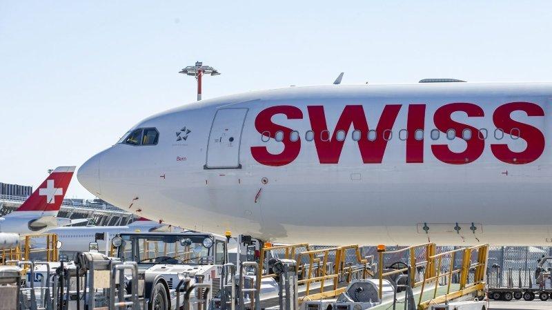 Coronavirus: la compagnie aérienne Swiss garde son plan de vol minimal jusqu'au 17 mai
