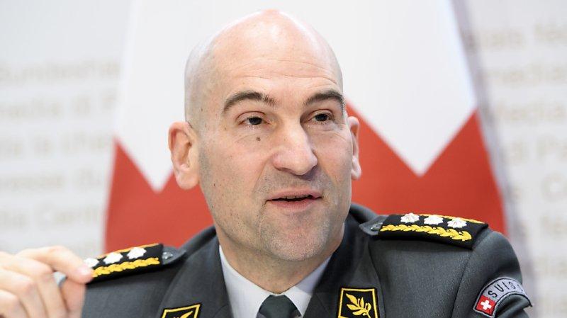 Coronavirus: le chef de l'armée Thomas Süssli loue l'intervention de ses troupes
