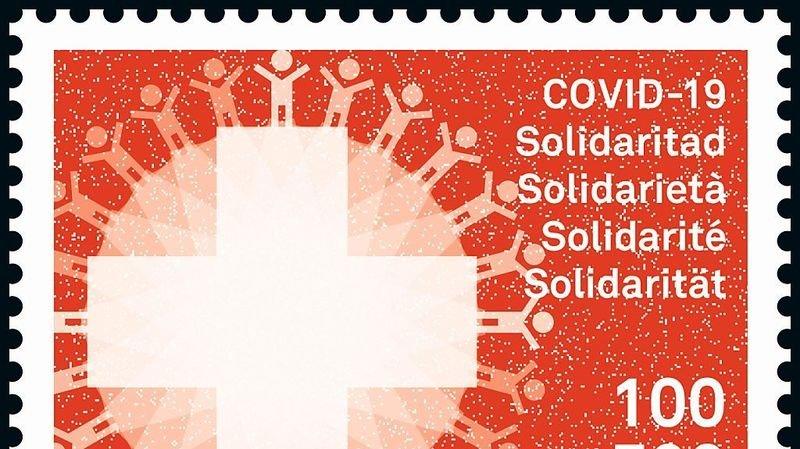 Coronavirus: La Poste émet un timbre de la solidarité