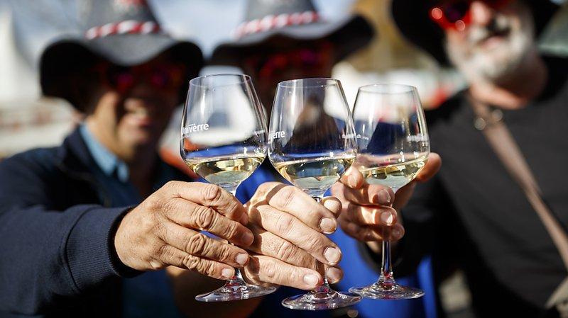 Hausse de la consommation de vin suisse