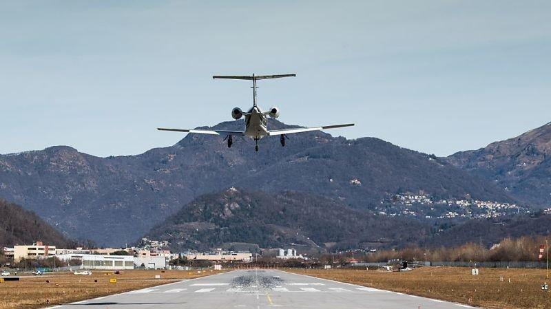 L'aéroport de Lugano-Agno est en grande difficulté financière depuis des années.