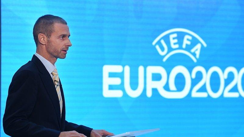 Football – Euro 2021: le président de l'UEFA n'exclut pas de réduire le nombre de pays hôtes à 8