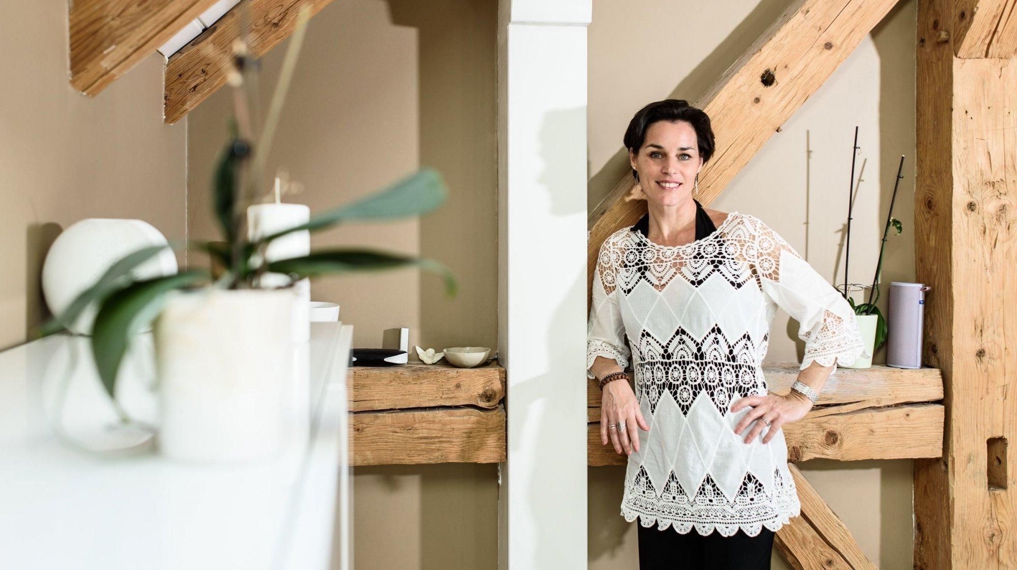 Sonia Grimm: «Le bonheur est dans l'acceptation du moment présent»