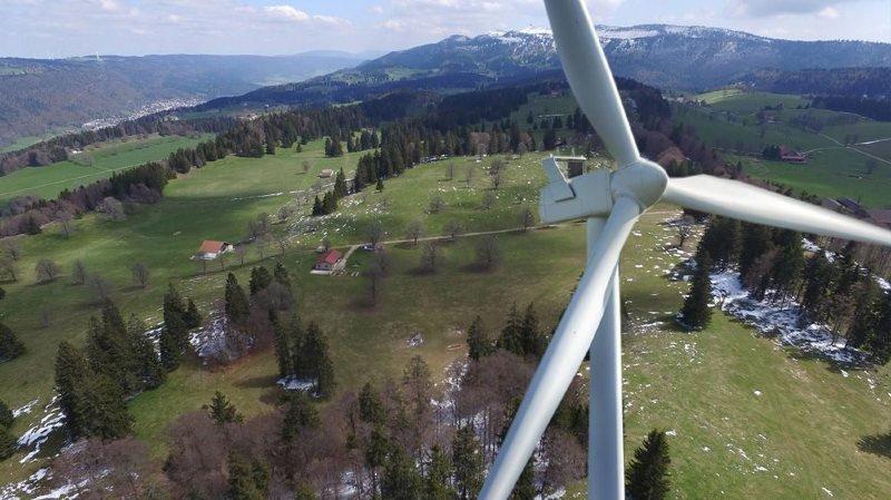Aucune éolienne de plus de 50 mètres ne pourra être construite avant 2030.  (Image d'illustration)