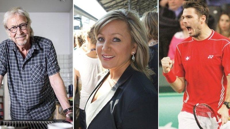 Stan Wawrinka, Nuria Gorrite, Henri Dès: ils font grimper les enchères par solidarité