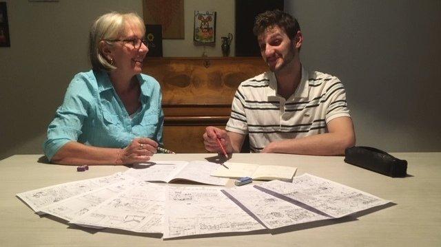 Une Pranginoise et son fils créent leur propre bande dessinée