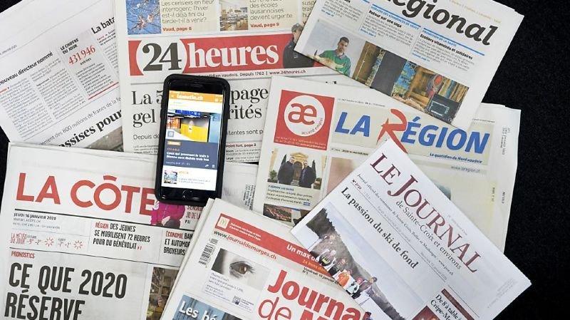 """""""Le Régional"""" faisait partie des gratuits de la presse romande (Photo prétexte)."""