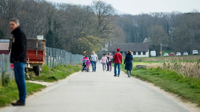 Coronavirus: les Vaudois sont de sortie, mais bien moins que d'habitude