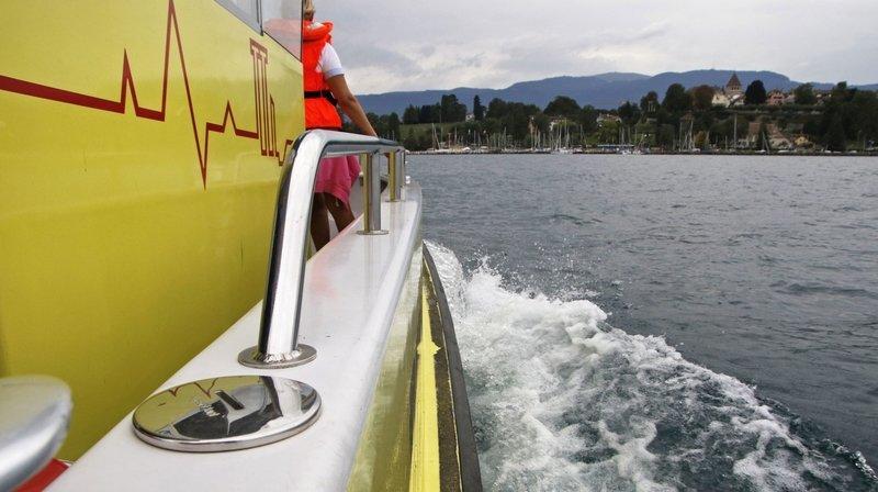 Les bénévoles du sauvetage de Nyon et de Coppet ont participé à l'intervention (photo d'illustration).
