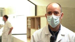 A Thierrens (VD), un centre médical séparé en deux pour trier les patients