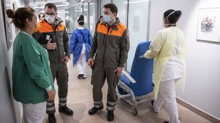 Coronavirus: environ 5000 membres de la protection civile mobilisés