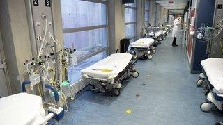 Vaud: treize nouveaux décès, mais hospitalisations toujours en baisse