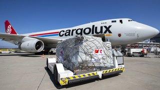 Coronavirus: 92 tonnes de matériel médical livrées par avion cargo à Genève