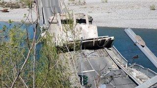 Italie: un pont routier s'effondre entre Gênes et Florence, 1 blessé