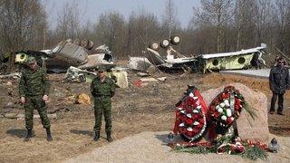 Pologne: des cérémonies discrètes dix ans après le crash de Smolensk