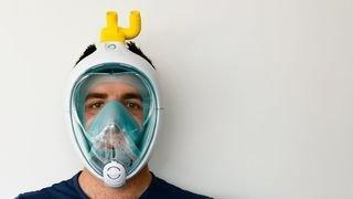 Coronavirus: la folle histoire du masque de plongée Decathlon adopté par des soignants du monde entier