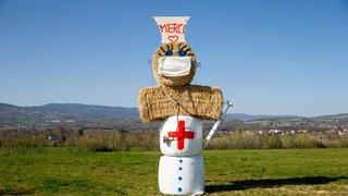 Les décorations de Pâques se protègent du coronavirus